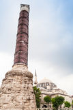 Column of Constantine, Istanbul, Turkey Royalty Free Stock Photo