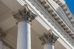 Column corinthian capital Stock Image