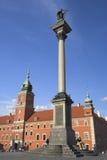 Column de rey Zygmunt foto de archivo