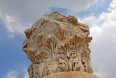 Column decoration close-up - ancient Hierapolis Stock Photo