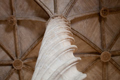 Column - decoration detail of the interior of the Old Silk Excha Royalty Free Stock Images