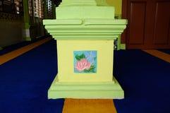 Column decoration at Masjid Kariah Dato' Undang Kamat, Johol, Negeri Sembilan Stock Photography