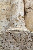 Column detail. Tomb of Zechariah. Jerusalem, Israel Stock Photography