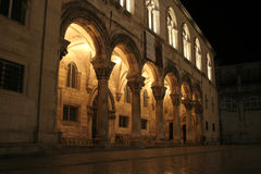 Column dubrovnik Royalty Free Stock Photography