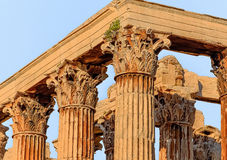 Column, the fifth century BC Stock Images