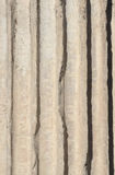 Column fluting background Royalty Free Stock Photography