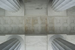 Column Geometries. At Lincoln Memorial - Washington DC 2007 Stock Photography