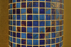 Column with glass mosaic Royalty Free Stock Photo