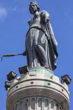 Column of the Goddess in Lille Stock Images