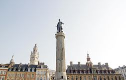 The Column of the Goddess (Lille North France) Stock Photo