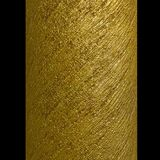Column gold metallic spiral strips texture Stock Image