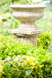 column in green garden Royalty Free Stock Image