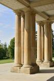 Column group at castle, Hoenheim Stock Images