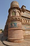 Column of Gwalior Fort Royalty Free Stock Photography