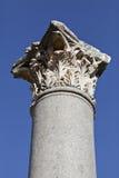 Column head, Ephesus, Izmir, Turkey Royalty Free Stock Images
