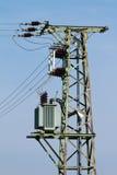 Column high voltage Stock Photo