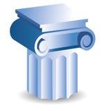 Column icon Stock Photography