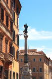 Column of the Immaculate Conception, Rome Stock Images
