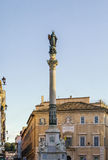 The Column of the Immaculate Conception, Rome Stock Photography
