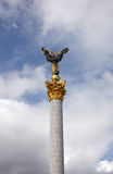 Column in Independence Square, Kiev Royalty Free Stock Photography
