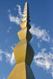 Column of the Infinite  by Constantin Brancusi Stock Images
