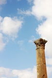 Column in Jerash Royalty Free Stock Images