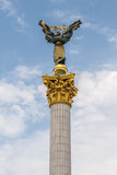 Column in Kiev Stock Image