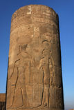 Column in Kom Ombo Stock Images
