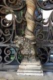 Column lion Royalty Free Stock Image