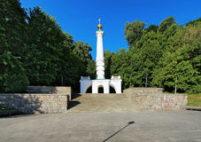 Column of the Magdeburg Rights in Kiev Royalty Free Stock Photography