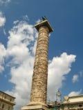 Column of Marcus Aurelius 01 stock photos
