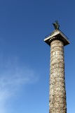 Column of Marcus Aurelius Royalty Free Stock Photos