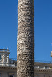 Column of Marcus Aurelius Stock Photo