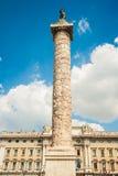 Column of Marcus Aurelius Stock Images