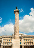 Column of Marcus Aurelius Stock Photos