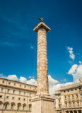 Column of Marcus Aurelius Royalty Free Stock Image