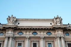 Column of Marcus Aurelius, Rome, Italy Stock Image