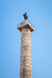Column of Marcus Aurelius, Rome, Italy Royalty Free Stock Photography