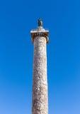 Column of Marcus Aurelius, Rome, Italy Royalty Free Stock Image