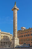 Column of Marcus Aurelius, Rome Stock Photography
