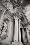 Column old architecture in italy europe milan religion       and Royalty Free Stock Image