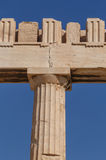 Column of Parthenon temple Royalty Free Stock Images