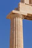 Column of Parthenon temple Stock Photography