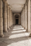 Column passage in Venezia Royalty Free Stock Photography