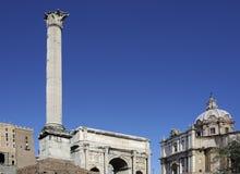The Column of Phocas Stock Photography