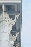 Column, Pillar Detail of Wat (Temple) in Thailand Royalty Free Stock Image