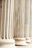 Column Pillars. Close up , Athens Academy Stock Photos