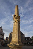 Column at the Postplatz in Reichenbach (Vogtland), Germany, 2015 Royalty Free Stock Images