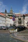 Column_Prague святой троицы Стоковая Фотография