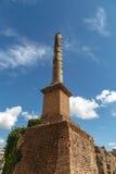 Column at Roman Forum Royalty Free Stock Photo